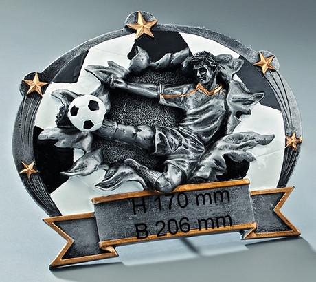 2er Fußball-Trophäe ST-37633-34