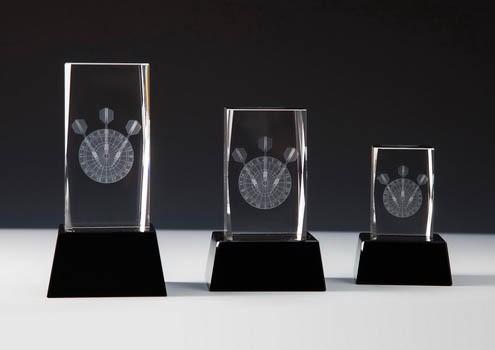 Glastrophäe - in 3 Größen ST-67590 - 92