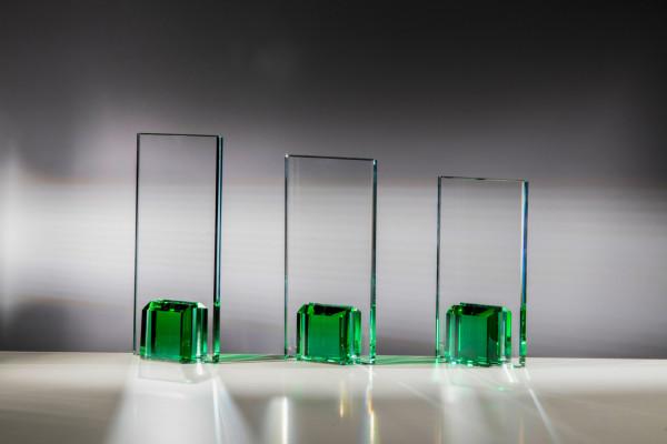 Glastrophäe - in 3 Größen ST-68132 - 34