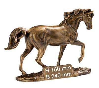 3er Serie-Pferd-Trophäe ST39475-77