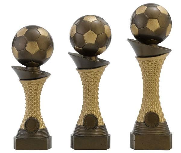 Fußballtrophäe 3er Serie, RF-C163.1 - C163.3