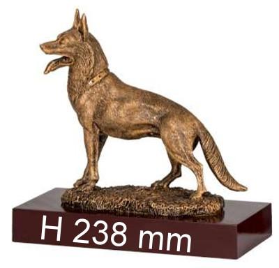 4er Serie Schäferhund-Trophäe ST39427-30