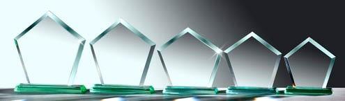 Glastrophäe - in 5 Größen ST-67041 - 45