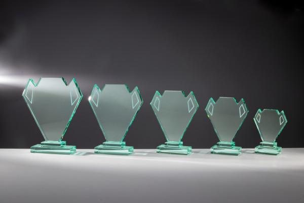 Glastrophäe - in 5 Größen ST-68109 - 114