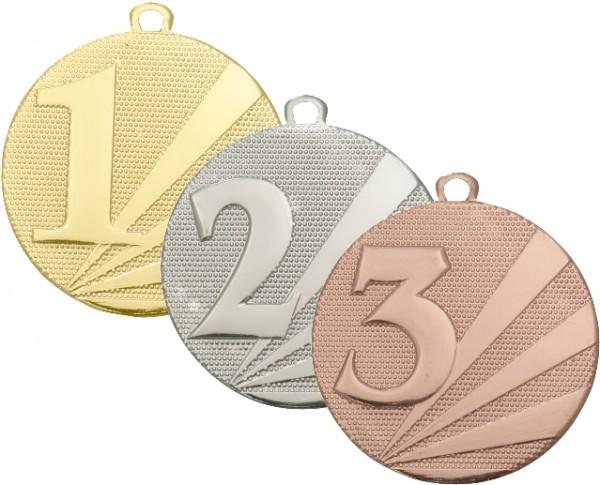 1+2+3 Medaille Komplett, BM-D112 E-F-G