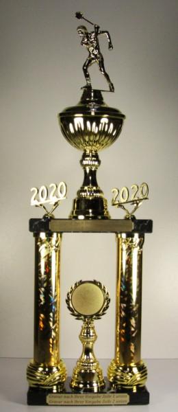 Säulenpokal Squashspieler EB-0035-37