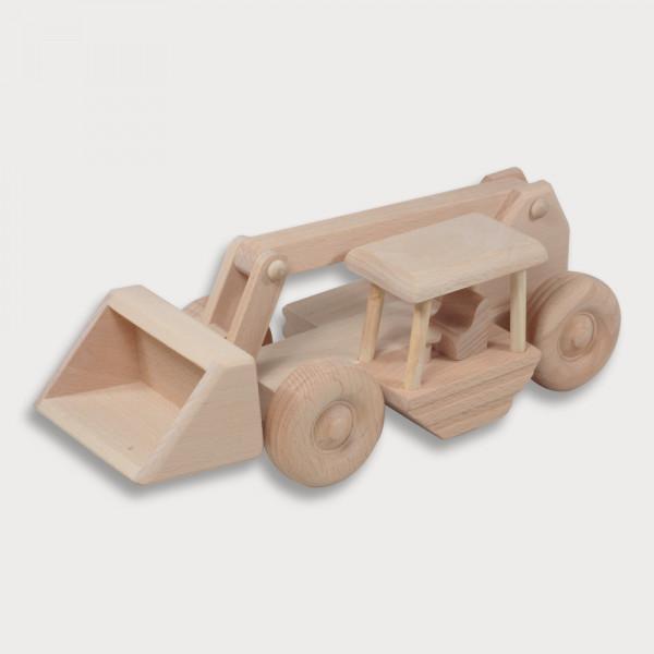 Radlader aus Holz 27 cm