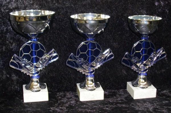 Fußball - Pokale 3er Serie, 170- bis 180 mm, EB-P164