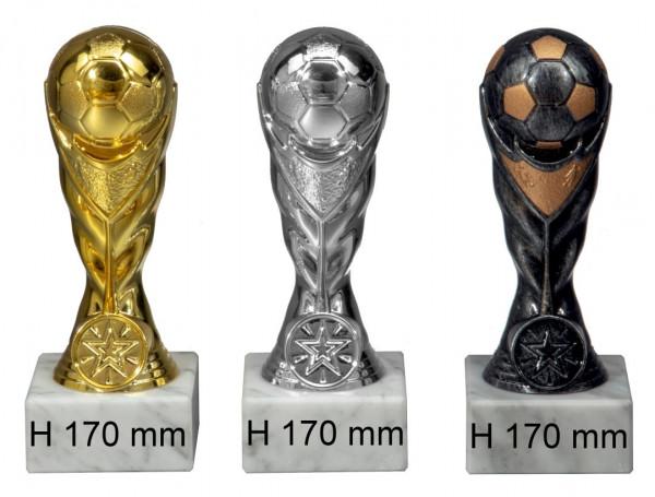 3er Serie-Fußball-Trophäe ST-56201-03