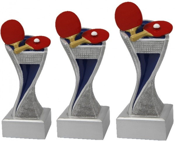 Tischtennis-Trophäe, 3er Serie,BM-FG4151 - 4153