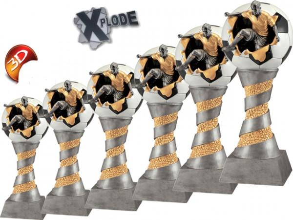 Fußballpokale 6er Serie XPLODE BM-FG199 - 204