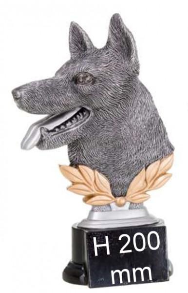 3er Serie Hunde-Trophäe ST39220-22