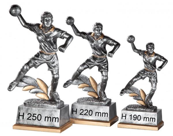 3er Serie-Damen Handball-Trophäe ST-38631-33