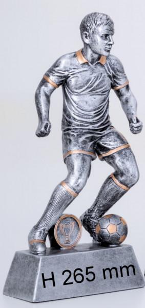 6er Serie-Fußball-Trophäe ST-39375-80