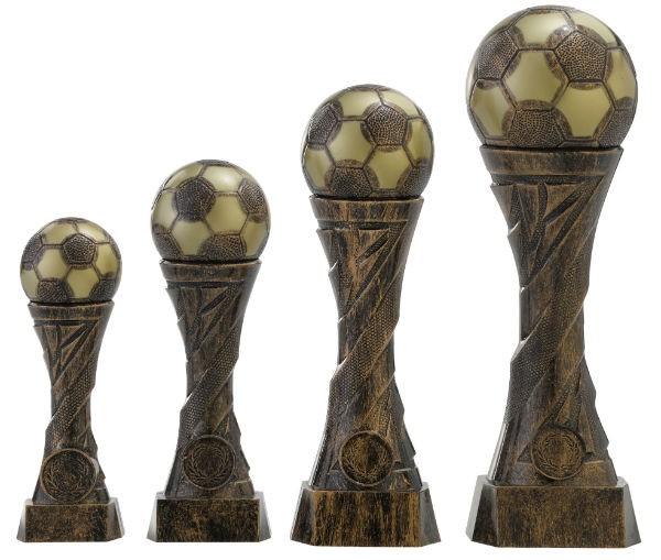 Fußballtrophäe 4er Serie RF-C162.1 - C162.4