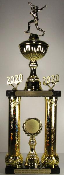 Säulenpokal Squashspielerin EB-0040-42