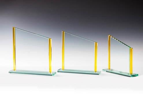Glastrophäe - in 3 Größen ST-67681 - 83