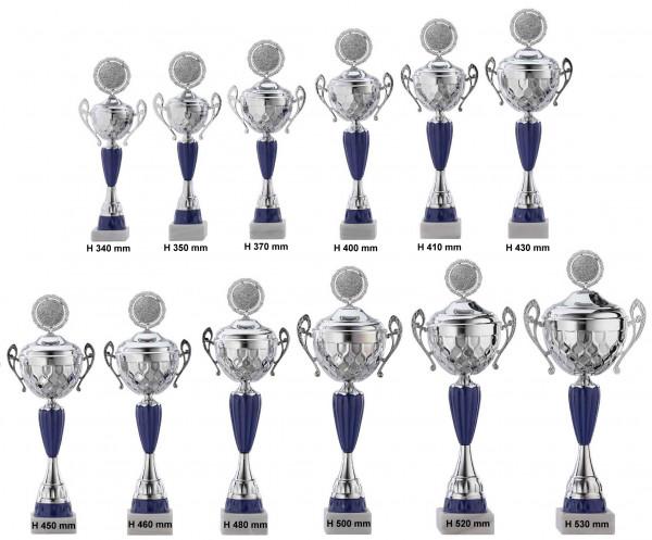 Pokale 12er Serie, RF-A4017.1 - A4017.12