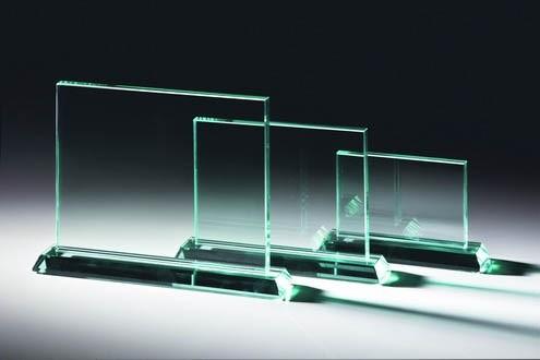 Glastrophäe - in 3 Größen ST-66421- 23