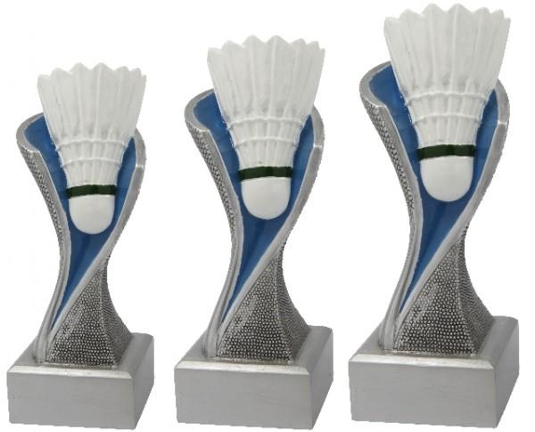 Badminton-Trophäe, 3er Serie, BM-FG4141 - 4143