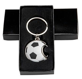 Schlüsselanhänger Fußball Flaschenöffner, inkl.G-Box ST-35424
