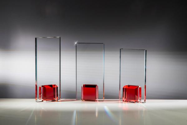 Glastrophäe - in 3 Größen ST-68136 - 38