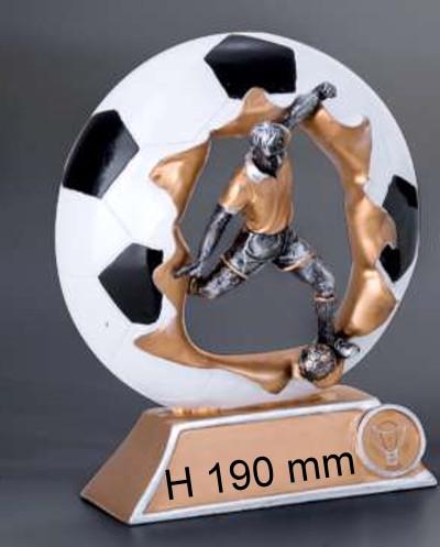 4er Serie-Fußball-Trophäe ST39383-86