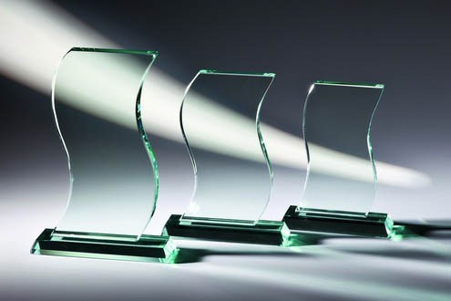Glastrophäe - in 3 Größen ST-66301 -303