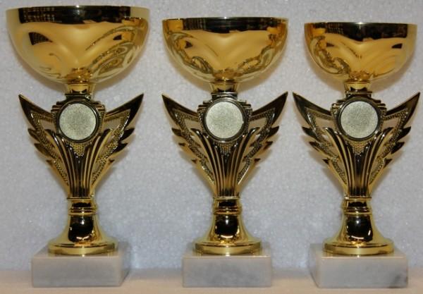 Pokale 3er Serie, 160 bis 175 mm, EB-T434.GG