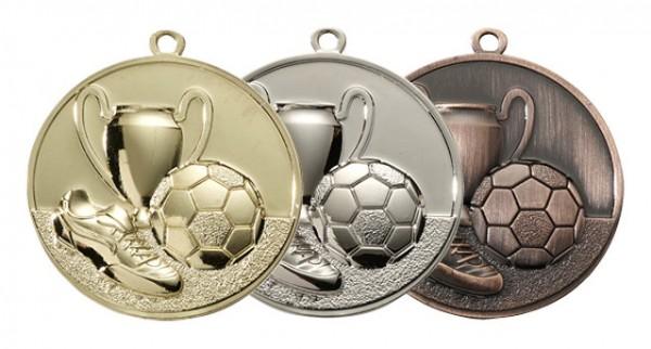 Fußball-Medaille Komplett, RF-E4003.1 - E4003.3
